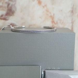 New Michael Kors Pavé Sterling Silver Bracelet